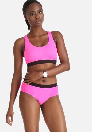 Marie Meili Seamless Hipster Panties Hot Pink