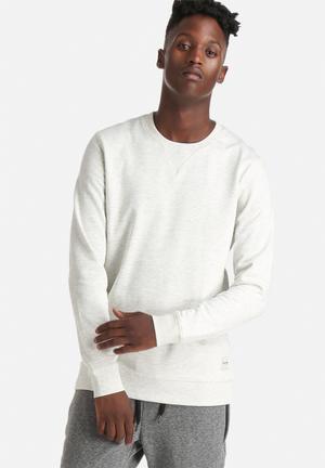Only & Sons Fana Crew Hoodies & Sweatshirts Oatmeal