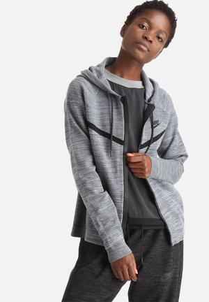 Nike Tech Knit Windrunner Hoodies & Jackets Grey