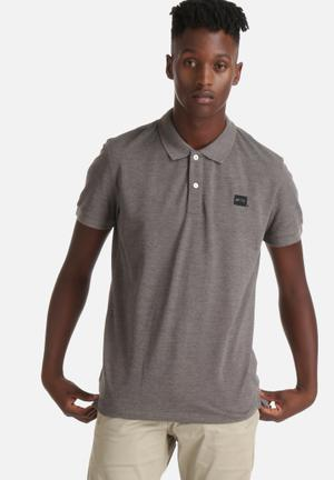 Jack & Jones CORE Basic Polo T-Shirts & Vests Grey