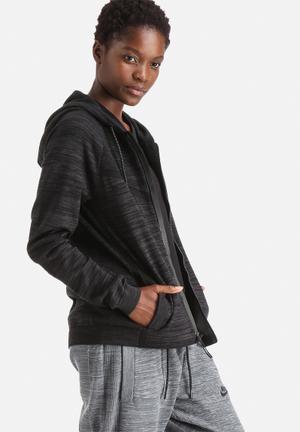 Nike Tech Knit Windrunner Hoodies & Jackets Black