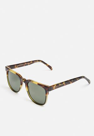 Komono  Riviera Eyewear Green Tortoise
