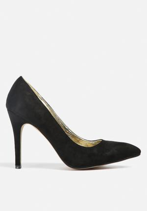 Gino Paoli Court Shoe Heels Black