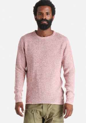 Selected Homme Brody Crew Knitwear Red