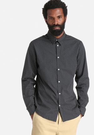 Selected Homme Coy Slim Shirt Black