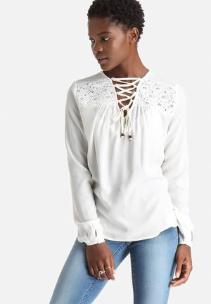 ONLY Junia Top Blouses White