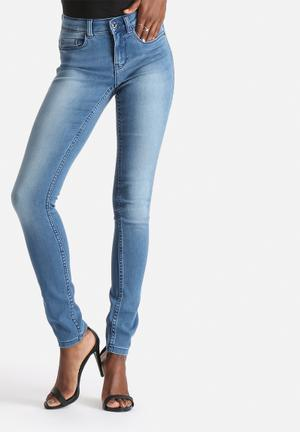 ONLY Ultimate Soft Regular Skinny Jeans Light Blue