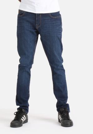 GUESS Mens Super Skinny Jean Jupiter Wash