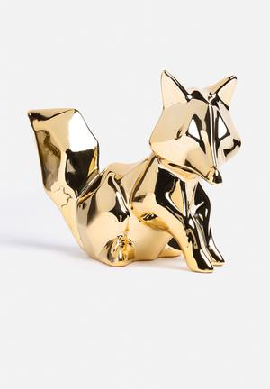 Eleven Past Geometric Fox Accessories Ceramic