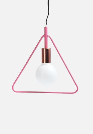 Simple Triangle Pendant