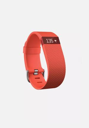 Fitbit Fitbit Charge HR Fitness Trackers & Accessories Tangerine
