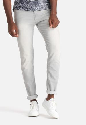 Only & Sons Loom Slim Denims Jeans Grey