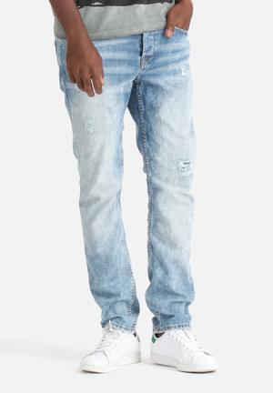 Only & Sons Weft Regular Denims Jeans Light Blue