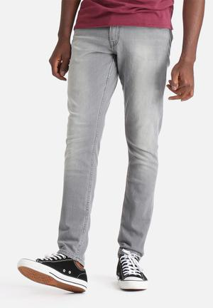 GUESS Super Skinny Fit Jeans Lonesome Wash