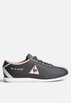 Le Coq Sportif Wendon W Classic Sneakers Charcoal & Tropical Peach