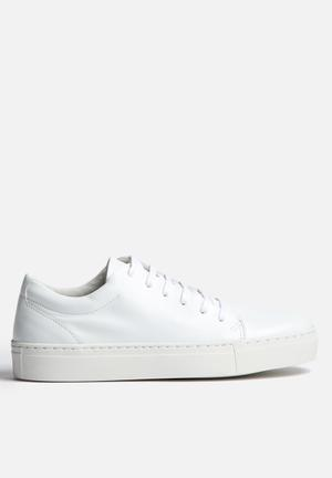 Vero Moda Ella Leather Sneaker White