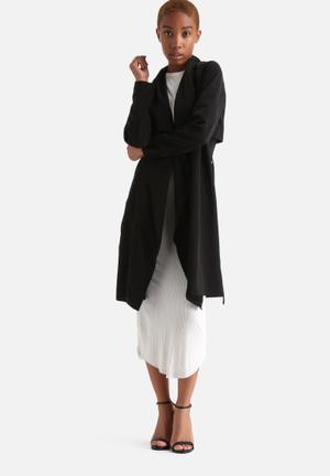 Vero Moda New Louise Trench Coat Black