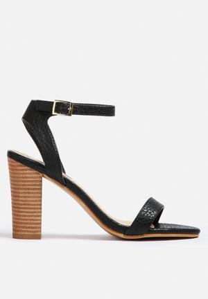 Billini Paris Heels Black