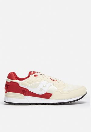 Saucony Shadow 5000 Sneakers Cream / Red