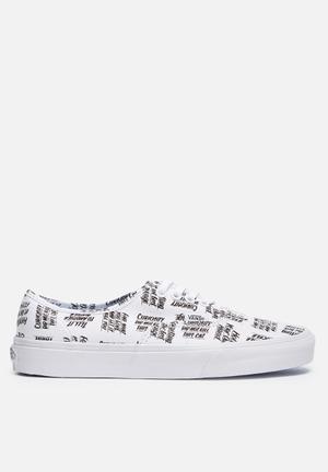Vans Authentic Sneakers White / Black