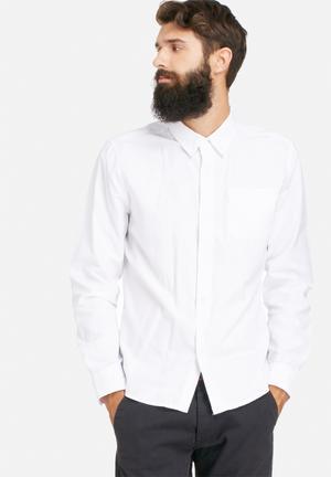 Bellfield Coda Shirt White