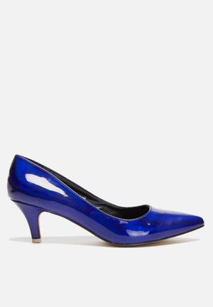 Footwork Demi Heels Navy