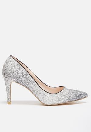 Footwork Rosie Heels Silver