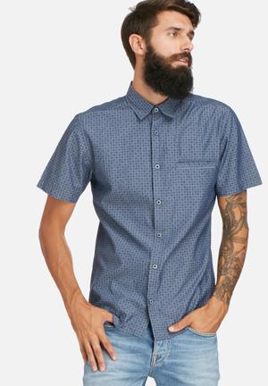 Only & Sons Ali SS Shirt Medium Blue