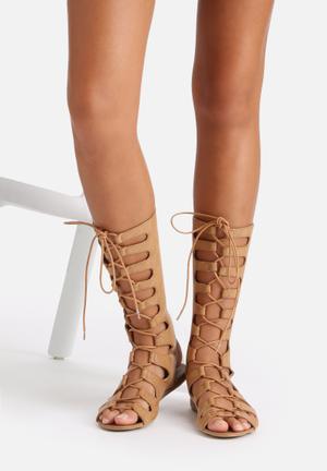 Billini Infinity Sandals & Flip Flops Tan