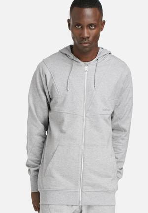 Adidas Originals Mod Zip Hoody Grey Melange