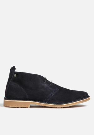 Jack & Jones Footwear & Accessories Gobi Suede Chukka Boot Navy