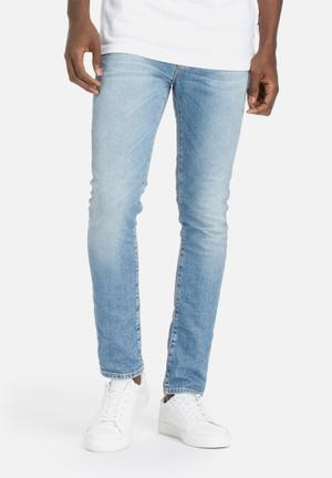 Selected Homme Fabios Skinny Jeans Medium Blue