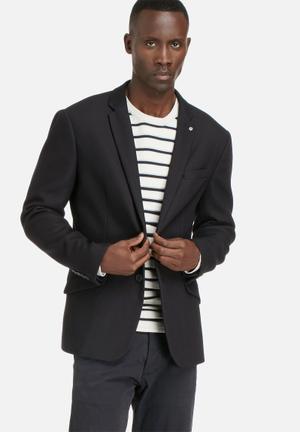 Selected Homme Done Willis Blazer Jackets & Coats Navy Blazer