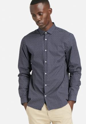 Jack & Jones Premium Rack Mix Shirt Navy Blazer