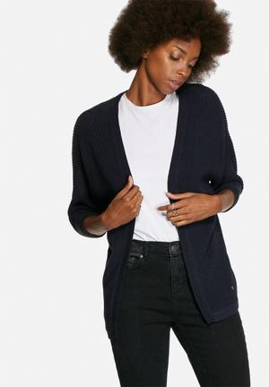 ONLY Fiona Cardigan Knitwear Navy