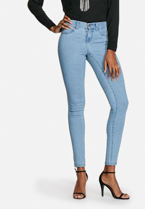 Noisy May Paris Jegging Jeans Light Blue