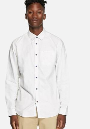 Jack & Jones Originals Deal Shirt White