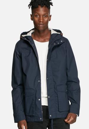 Jack & Jones Originals Hype Parka Jacket Navy Blazer