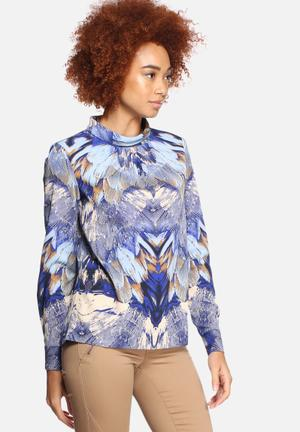 Y.A.S Feather Blouse