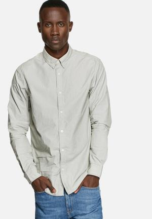Selected Homme Jalte Slim Shirt Blue