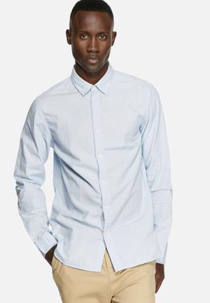 Selected Homme Jalte Slim Shirt Blue