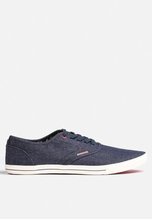 Jack & Jones Footwear & Accessories Spider Canvas Sneaker Blue