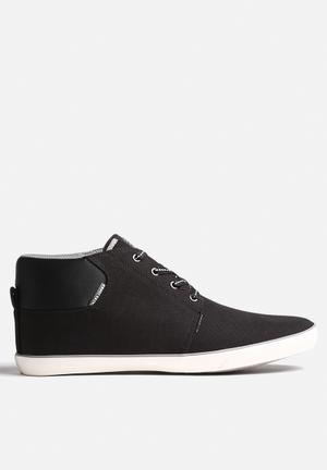 Jack & Jones Footwear & Accessories Vertigo Canvas Sneaker Black