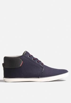 Jack & Jones Footwear & Accessories Vertigo Canvas Sneaker Navy