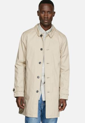 Selected Homme Trench Coat Sand