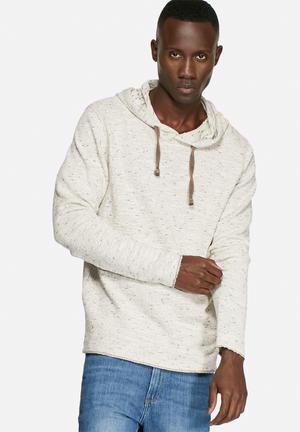 Jack & Jones Vintage Wind Sweat Hood Knitwear White