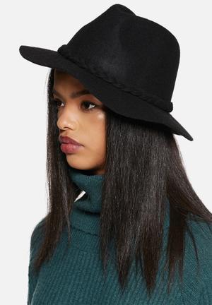 VILA Lush Hat Headwear Black