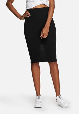 Pieces Viviann Skirt Black