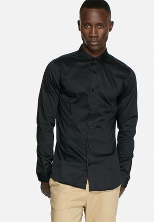 Jack & Jones Premium Parma Slim Shirt Black
