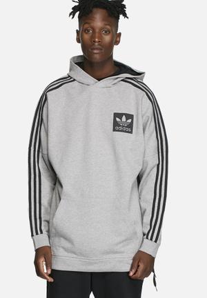 Adidas Originals Street Essentials Hoodie Hoodies & Sweatshirts Grey